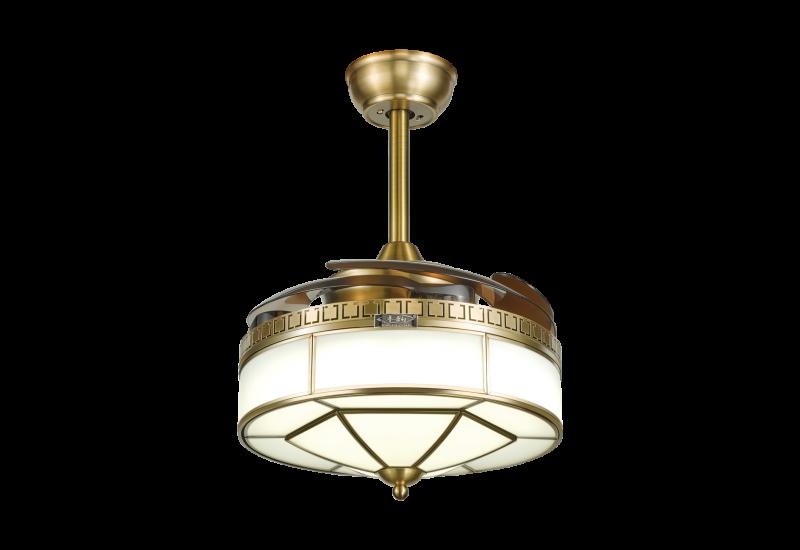 不同的室内装饰风格选择不同的吊扇灯