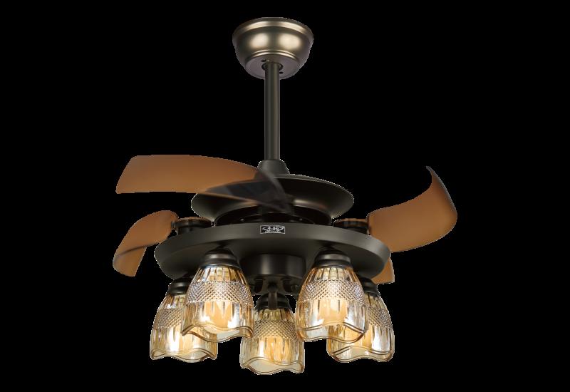 吊扇灯在冬天可以达到调节空气的效果