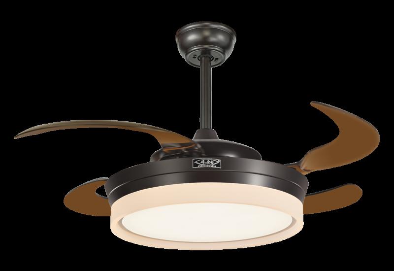 吊扇灯厂家结合了照明功能和散热功能
