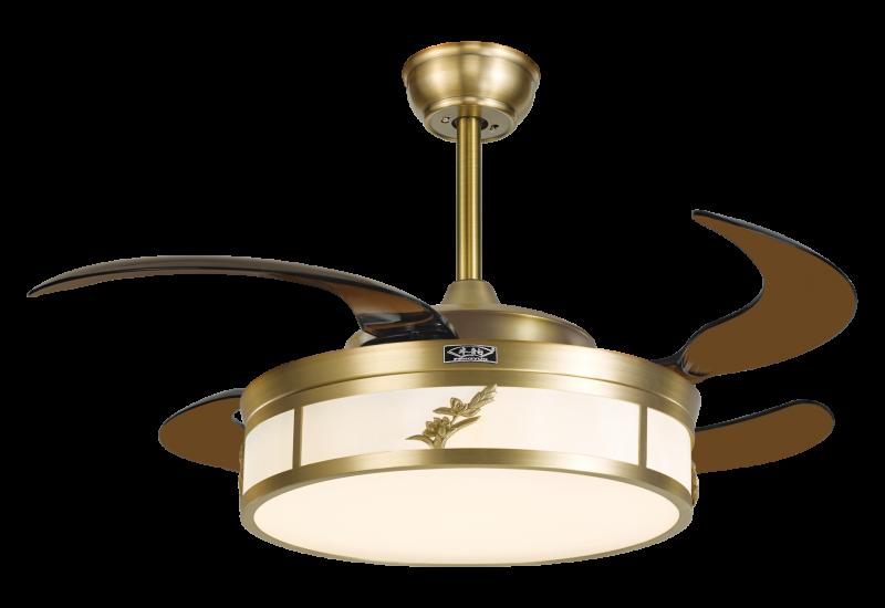 吊扇灯具有调整空气的作用