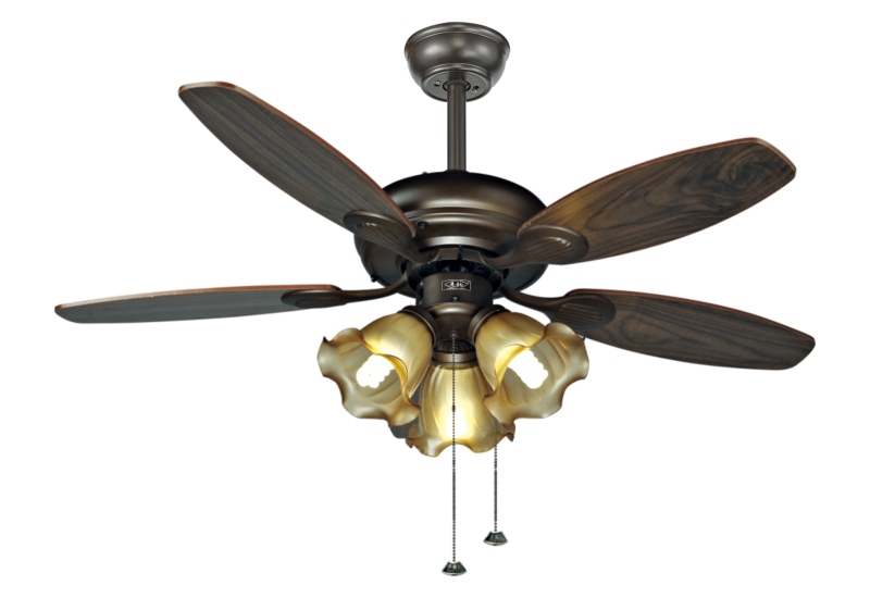 风扇灯的安装应该安全