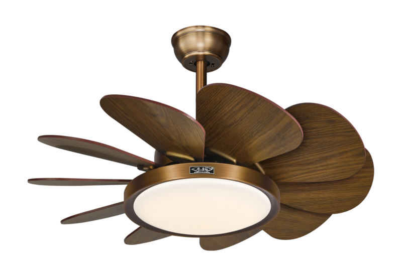 餐厅风扇灯可以产生清凉的吹风的感觉