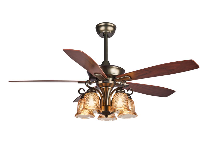 餐厅风扇灯可以根据不同的需要开启不同的功能